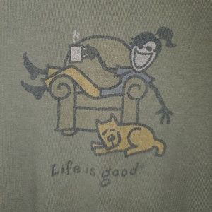 LifeIsGood LngSlv Top